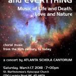 Spring 2018 poster